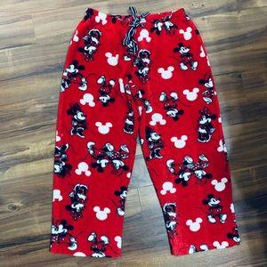 Disney Mickey Mouse Fleece Pajama Lounge Pant
